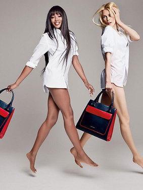 Tommy Hilfiger : Naomi Campbell et Claudia Schiffer